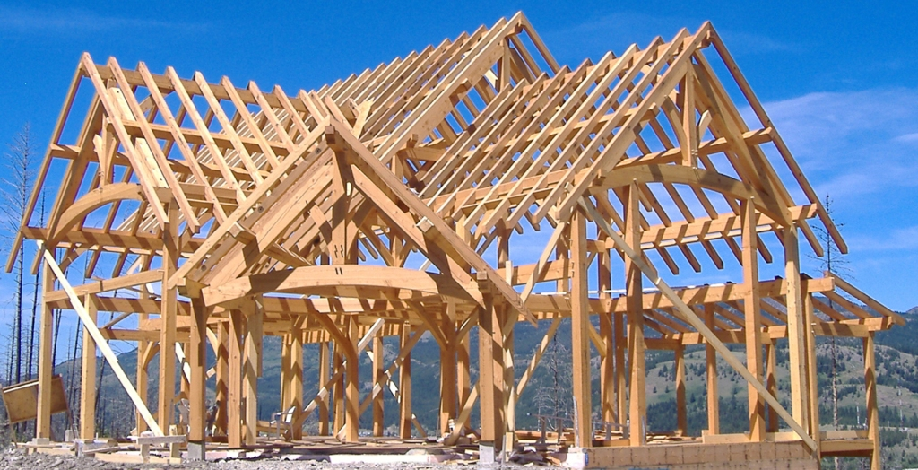 timber frame construction is still alive and well