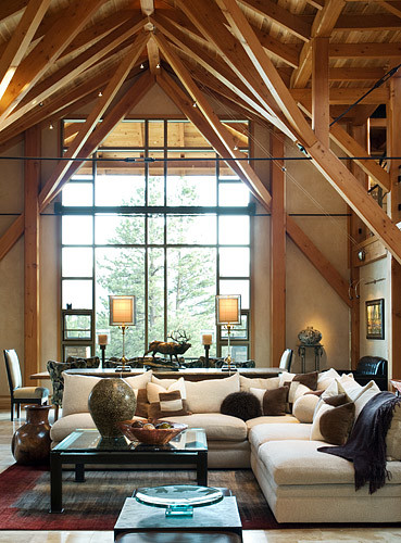 Residential Timber Home Westcliffe Timber Home Hamill